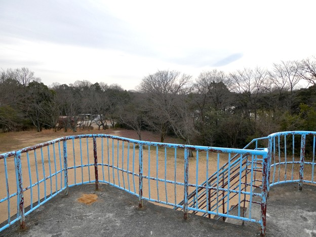 愛知県森林公園 展望台 - 3;展望台の上から見た景色