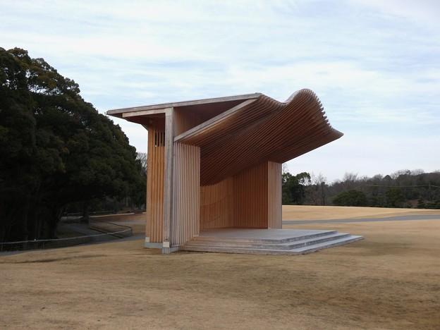 愛知県森林公園 芝生広場 - 4:お野立所