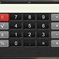 Photos: M1 Macだとボタンが大きくて押しやすいiPad用アプリ「電卓・」- 1