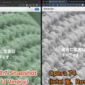 Photos: M1サポートしたVivaldi Snapshot 3