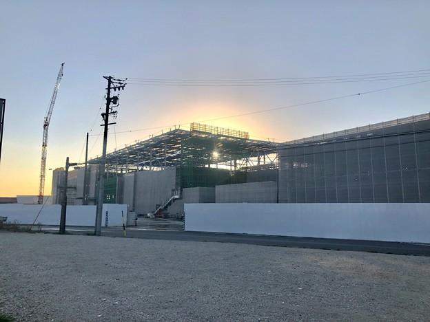 建設工事中の旧・ザ・モール春日井跡地(2021年3月22日) - 1
