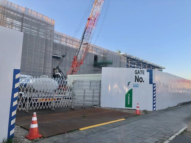 建設工事中の旧・ザ・モール春日井跡地(2021年3月22日) - 2