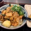 丸亀製麺 豚キムチ マヨぶっかけ