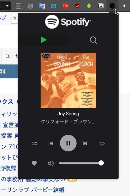 WEB版Spotifyのオーディオ・コントロールができる拡張「Spotless」