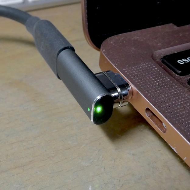 Macbook Air・ProをMagsafe化できる「Sisyphy Magsafe 磁気 マグネット USB-Cアダプター(9ピン)」 - 10