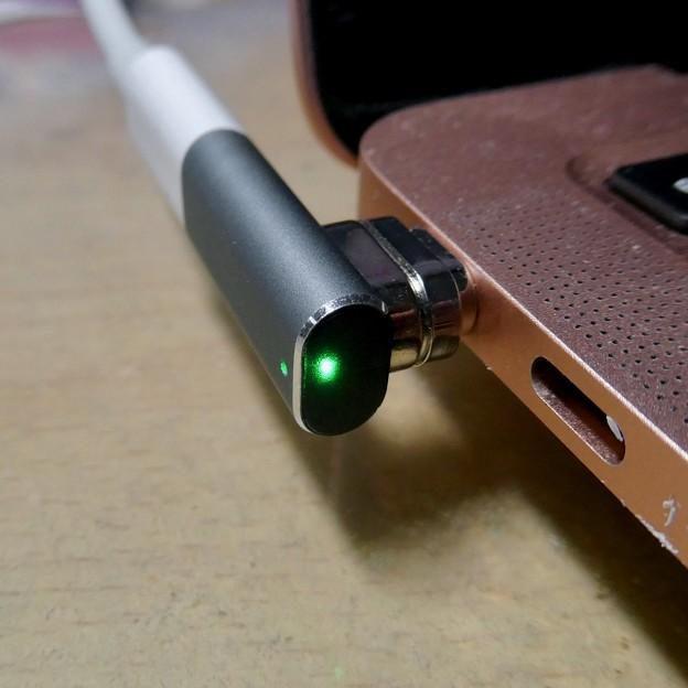 Macbook Air・ProをMagsafe化できる「Sisyphy Magsafe 磁気 マグネット USB-Cアダプター(9ピン)」 - 7