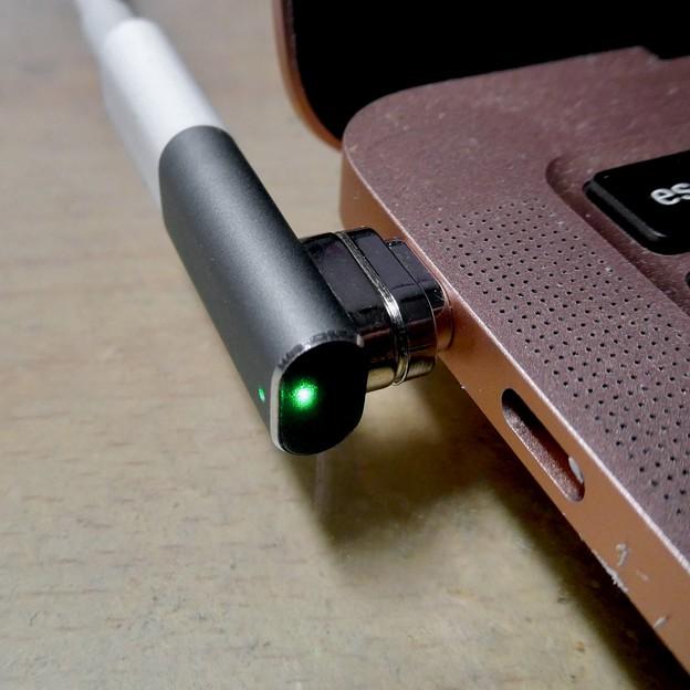 Macbook Air・ProをMagsafe化できる「Sisyphy Magsafe 磁気 マグネット USB-Cアダプター(9ピン)」 - 8