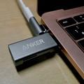 Macbook Air・ProをMagsafe化できる「Sisyphy Magsafe 磁気 マグネット USB-Cアダプター(9ピン)」 - 13:AnkerのSDカードリーダーだとちょっときつい