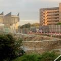 解体工事中の旧・桃花台線桃花台東駅(2021年4月14日撮影) - 5