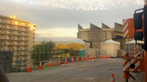 解体工事中の旧・桃花台線桃花台東駅(2021年4月14日撮影) - 3