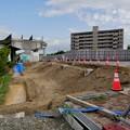 解体工事中の旧・桃花台東駅(2021年4月18日) - 3