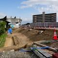 解体工事中の旧・桃花台東駅(2021年4月18日) - 4