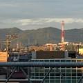 JR春日井駅自由通路から見た春日井三山 - 3