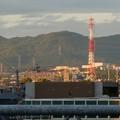 JR春日井駅自由通路から見た春日井三山 - 4