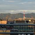 JR春日井駅自由通路から見た春日井三山 - 2