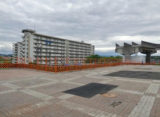 Photos: 解体工事中の桃花台線桃花台東駅(2021年5月22日撮影) - 12