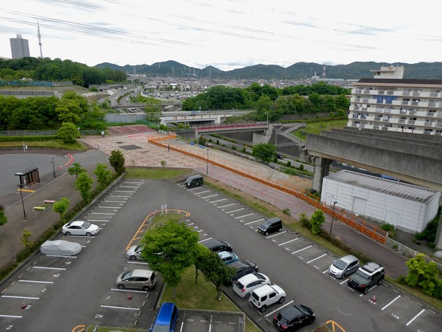 Photos: 解体工事中の桃花台線桃花台東駅(2021年5月22日撮影) - 16