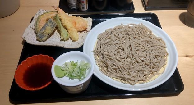 そば屋てんとろ春日井店:ざる蕎麦と天ぷら