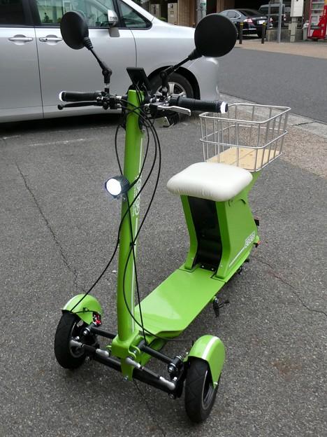 Future社の電動3輪バイク「GOGO!カーゴ」 - 2
