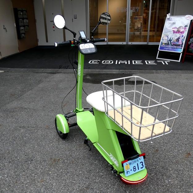 Future社の電動3輪バイク「GOGO!カーゴ」 - 4