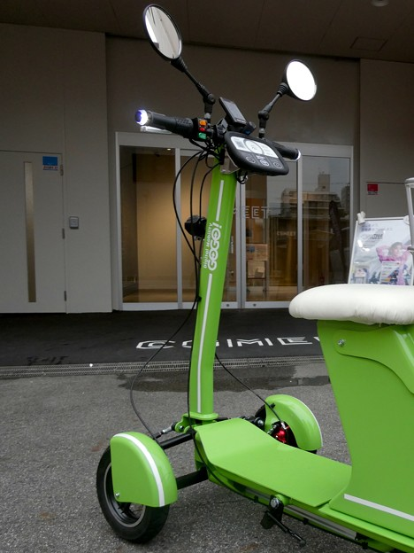 Future社の電動3輪バイク「GOGO!カーゴ」 - 10