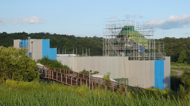 ジブリパーク建設に向けて工事が進む愛・地球博記念公園(2021年7月17日) - 12