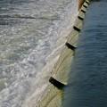 吉根橋近くの堰を流れる水 - 5