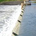 吉根橋近くの堰を流れる水 - 6