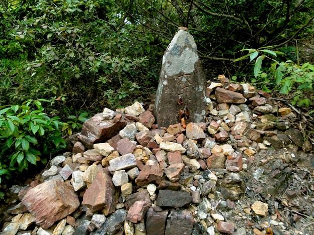 継鹿尾山頂上から寂光院への道 - 23