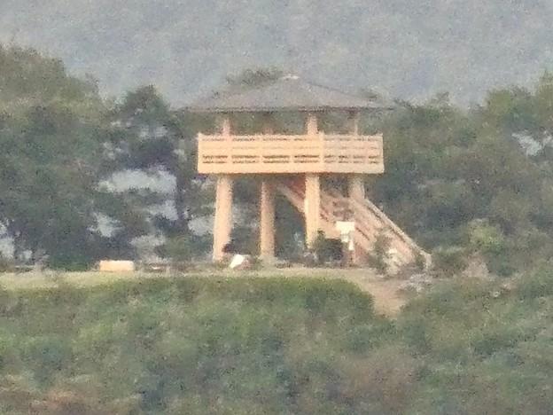 継鹿尾山の登山道から見た景色 - 4:陰平山うぬまの森の展望台
