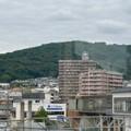 鵜沼駅から見た陰平山 - 2
