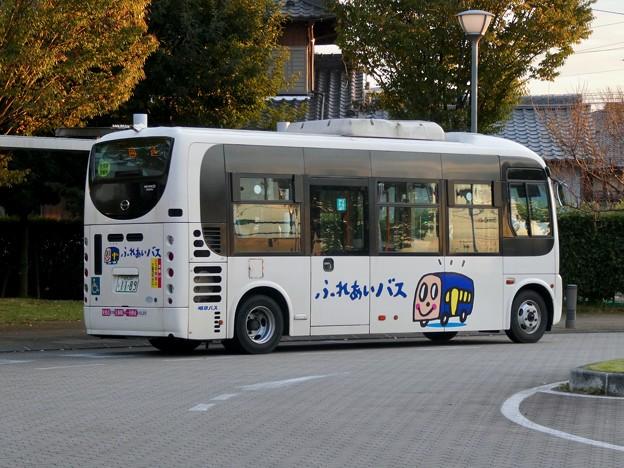 新鵜沼駅前にとまる各務原市ふれあいバス - 1