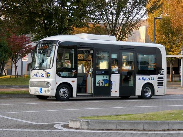 新鵜沼駅前にとまる各務原市ふれあいバス - 3