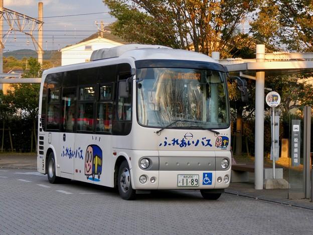 新鵜沼駅前にとまる各務原市ふれあいバス - 5