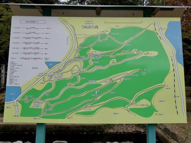日本ラインうぬまの森:案内図 - 2