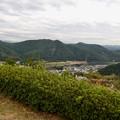 日本ラインうぬまの森:展望塔広場から見た景色 - 20(犬山北部の山々)