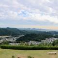日本ラインうぬまの森:展望台から見た景色(パノラマ)