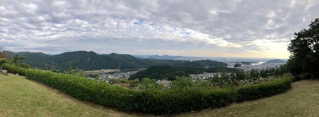 日本ラインうぬまの森:展望塔広場から見たパノラマ - 1