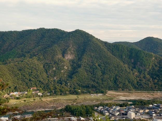 日本ラインうぬまの森:眺望の道から見た景色 - 6(大平山)