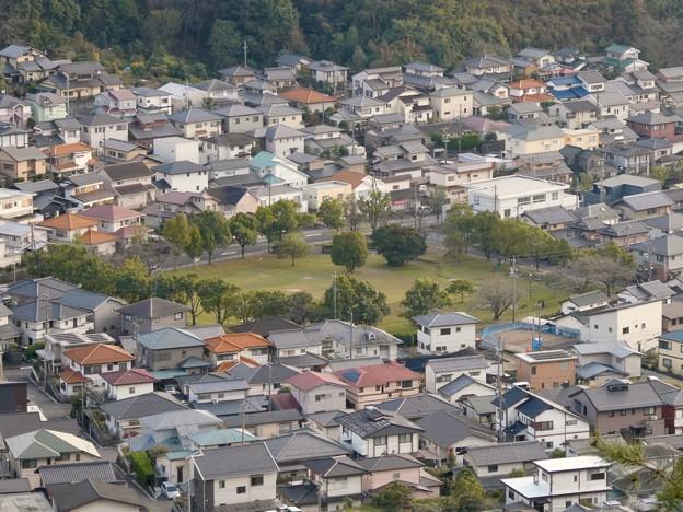 日本ラインうぬまの森:眺望の道から見た景色 - 11(新鵜沼台公園)