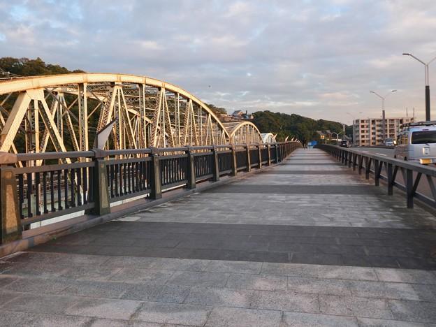 夕暮れ時の犬山橋 - 2