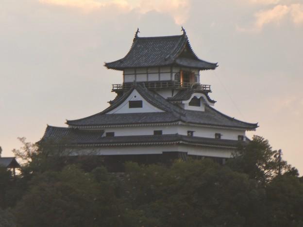 犬山橋から見た景色 - 3:犬山城