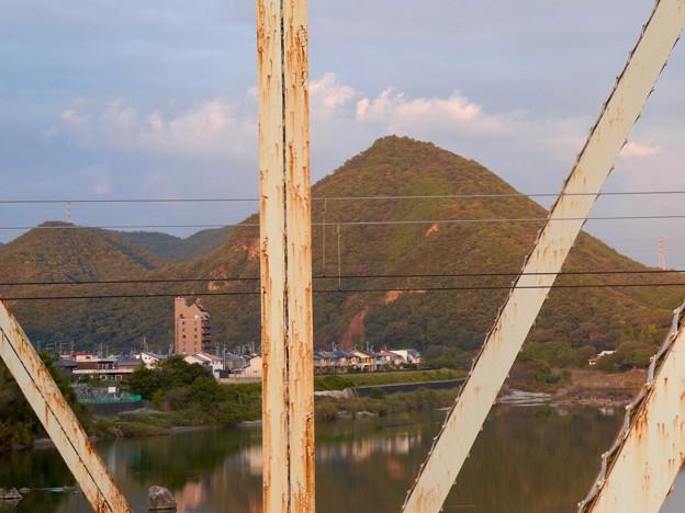 犬山橋から見た景色 - 10:大平山