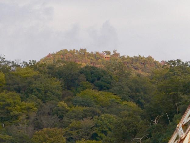 犬山橋から見た景色 - 12:継鹿尾山の展望台