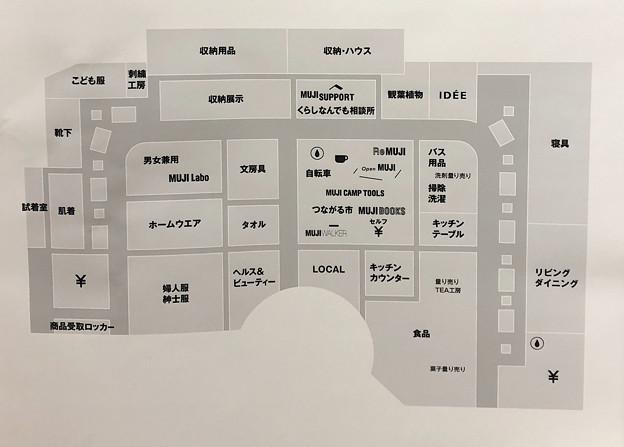 無印良品 イーアス春日井 フロアマップ(2021年10月)- 2