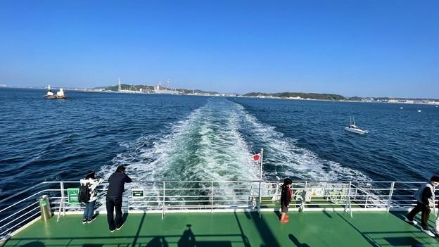 初めての東京湾フェリー