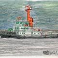 021604タグボート(曳船)かさど丸20211013
