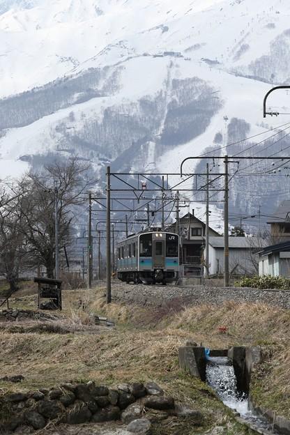 大糸線 E127系