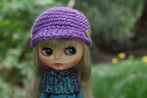 一昨年編んだキャスケット帽