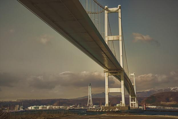 北海道五十三次?白鳥大橋